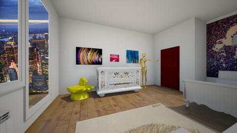 room C 2 - Bedroom - by tzwetelina_gitewa