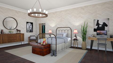 Horsey Bedroom - Bedroom - by lovedsign