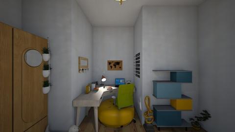 My room - Retro - Bedroom - by beatlesfan134
