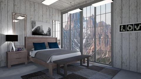 mountains - Bedroom - by cguy67