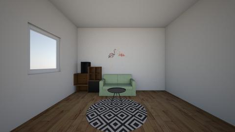 flamingo - Kids room - by naanaatoo