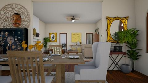 dining - Classic - Dining room - by rosej