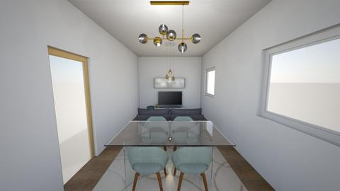 Menjador - Glamour - Living room - by Lydia_Fairen