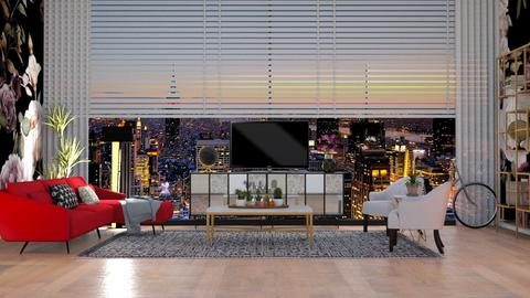 CITY_LOFT - Living room - by lovedsign