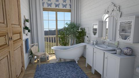 Shabby Chic Bathroom - Bathroom - by amyskouson