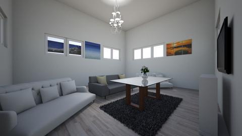 billionare living room - Living room - by Apach20