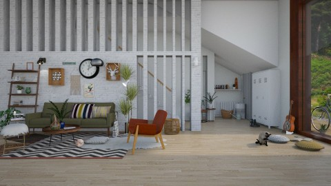 my soft living room - by paradise look