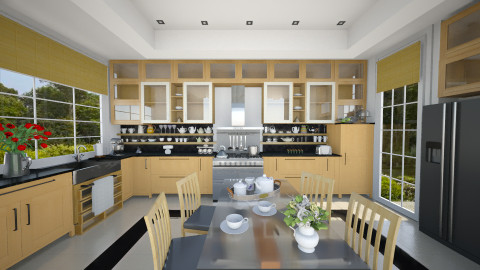 Kitchen - Modern - Kitchen - by maja97