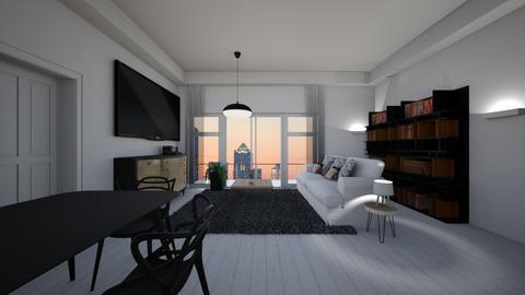 LA - Living room - by Angela Quintieri