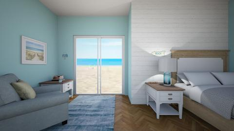 Costal room - Rustic - Bedroom - by BlobbyFish