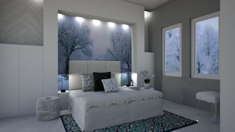 Snowy Dreams - Modern - Bedroom - by millerfam