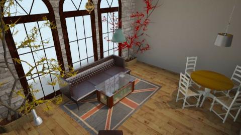 Man Cave - Rustic - Living room - by Carson Meek