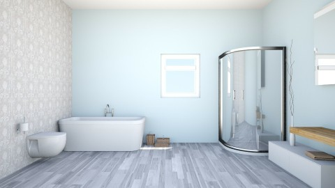 Minimalistic Bathroom - Bathroom - by BumbleBeeIsCute