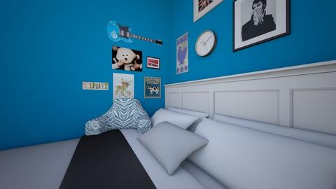 Gerards room - Masculine - Bedroom - by muleok