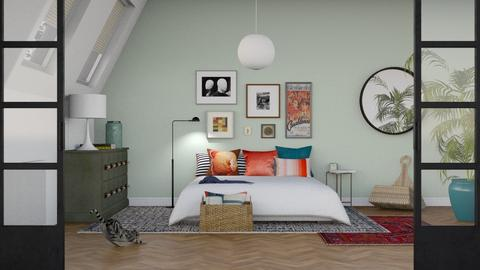 Eclectic Bedroom - Eclectic - Bedroom - by sabaclayes