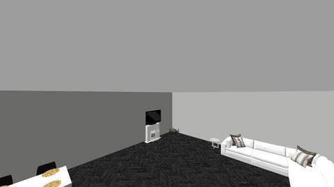 living room kitchen - Modern - Living room - by tsher53
