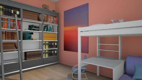 victors room - Bedroom - by Stasi Tancheva