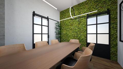Peregovornaya 3 - Office - by Ramila