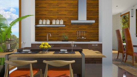 Bamboo - Kitchen - by Sanare Sousa