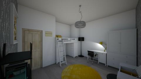 Teens bedroom - Classic - Bedroom - by liliannaoliwia