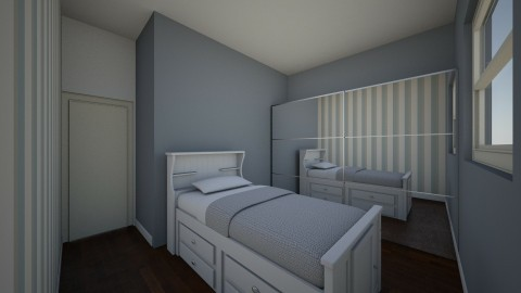 Boy Bedroom v2 - by Loraine Mariette
