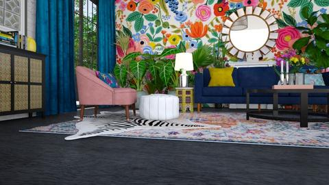 Bohemian_LR - Living room - by mire roig