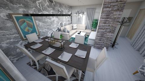 Dachastyle - Living room - by flowerevgeniya