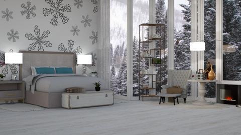 Snowflake - Bedroom - by Aymee Estrella