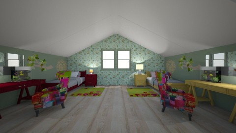 83 - Kids room - by Jade Autumn