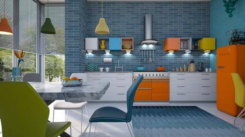 M_ MPK - Kitchen - by milyca8
