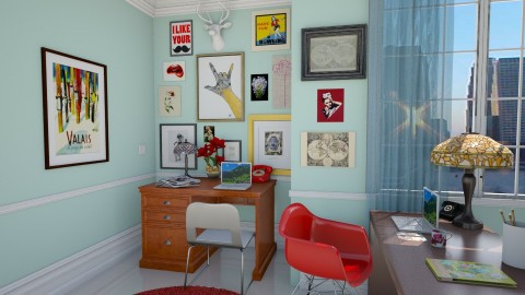 Modern Vintage Office - Eclectic - Office - by ANM_975