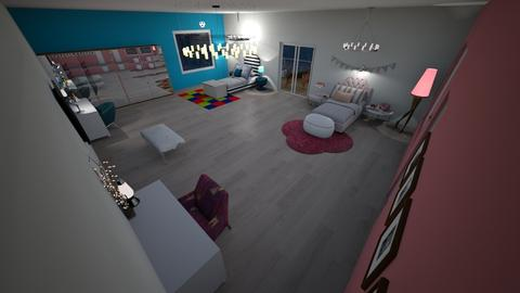gloglolicouss interiors - Kids room - by glodism