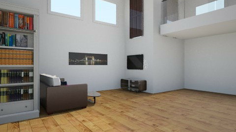 house 1 - Living room - by becreattive