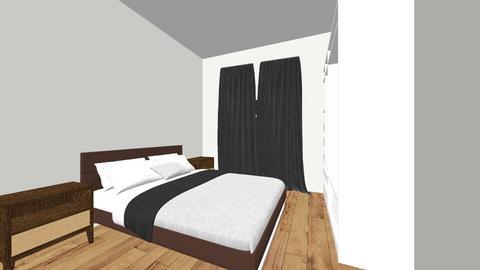 bedroom - Retro - Bedroom - by Marowakleo