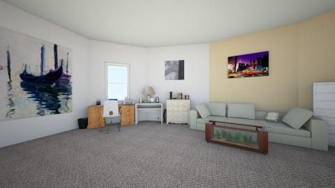 first - Living room - by Ariunzaya B