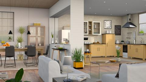 Apartment - Modern - Living room - by Sally Simpson