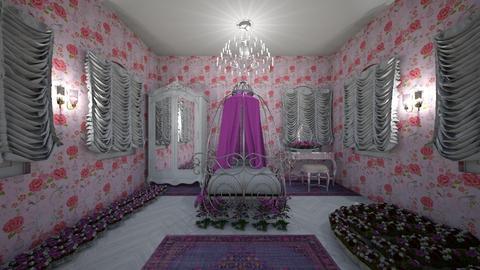 Princess bedroom - Feminine - Bedroom - by Cool Coder Girl