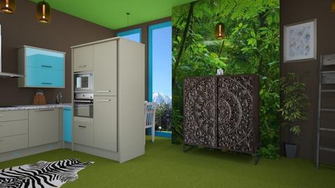 jungle - Kitchen - by zayneb_17