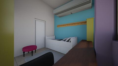 chinita room - Classic - Bedroom - by atleen