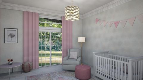 Pink Nursery - by kyrabaldwin