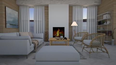 Aspen Chalet Template - Living room - by Tuija