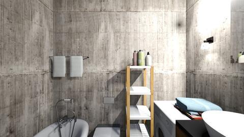 bath3 - Classic - Bathroom - by elawitkowska