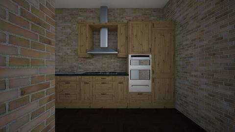 123 - Modern - Kitchen - by Ekman Aleks