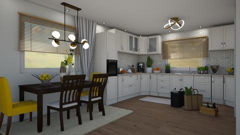 VH_Open Space_Kitchen - Kitchen - by JarkaK