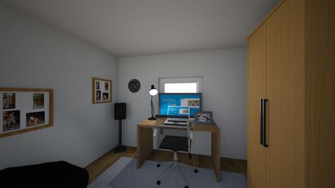 My room 2_8 - Modern - Bedroom - by mikeeXD