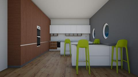 Green in the Kitchen - Modern - Kitchen - by colorful life