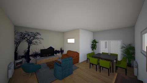 Sala January 2020 blue - Living room - by mozca