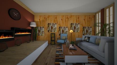 modern living - Retro - Living room - by kla