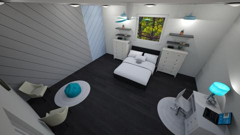 bedroom - Modern - Bedroom - by With Ice Cream