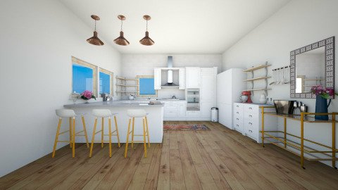 Contemporary Kitchen 1  - Classic - Kitchen - by isabella11111